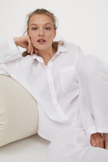 Oferta de Pijama en lino lavado por 39,99€