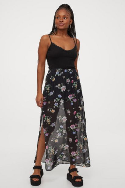 Oferta de Falda larga de gasa por 4,99€