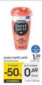 Oferta de Café helado Kaiku por 1,39€