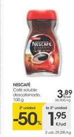 Oferta de Café soluble Nescafé por 3,89€