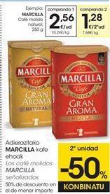 Oferta de Café molido Marcilla por 2,56€