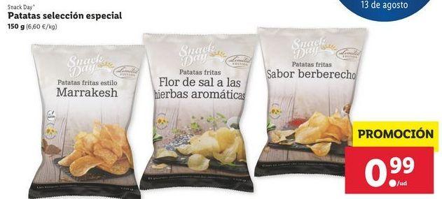 Oferta de Patatas fritas selección especialSnack Day por 0,99€