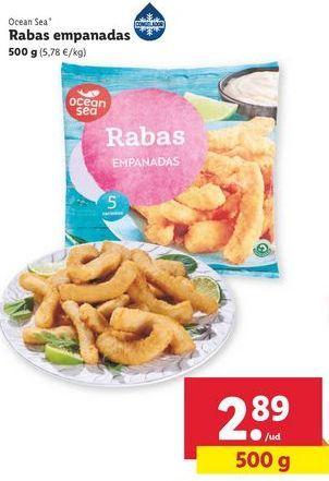 Oferta de Rabas empanadas ocean sea por 2,89€
