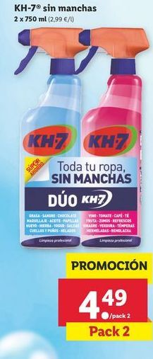 Oferta de Quitamanchas KH-7 por 4,49€