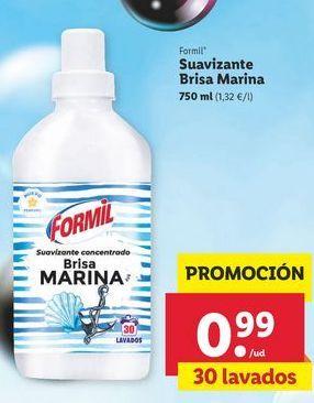Oferta de Suavizante Brisa Marina Formil por 0,99€