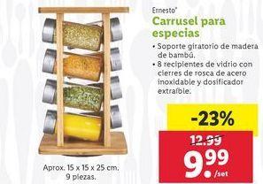 Oferta de Carrusel para especias ernesto por 9,99€