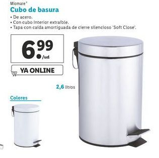 Oferta de Cubo de basura Miomate por 6,99€