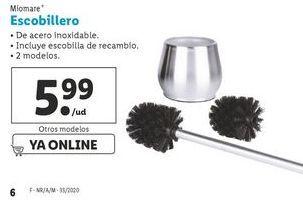Oferta de Escobillero Miomate por 5,99€