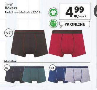 Oferta de Boxer Livergy por 4,99€