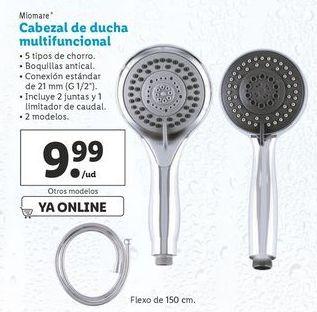 Oferta de Cabezal de ducha multifuncional Miomate por 9,99€