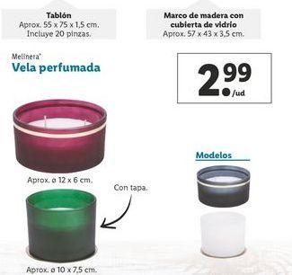 Oferta de Vela perfumada melinera por 2,99€