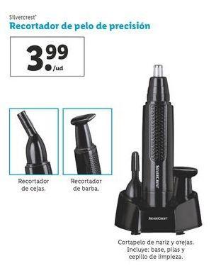 Oferta de Recortador de pelo de precisión SilverCrest por 3,99€