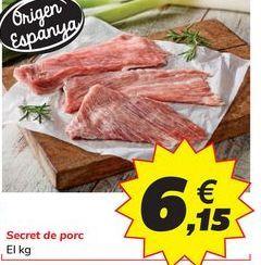 Oferta de Secreto de cerdo por 6,15€