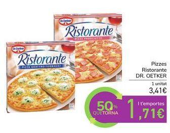 Oferta de Pizzas Ristorante DR.OETKER por 3,41€