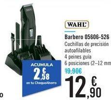 Oferta de Barbero 05606-526 WAHL  por 12,9€
