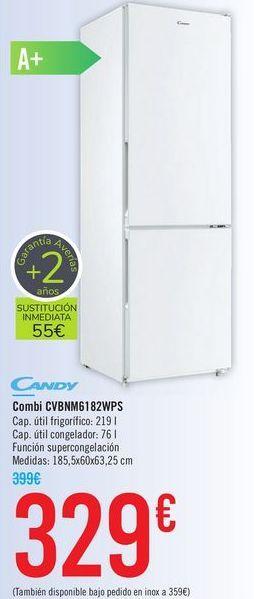 Oferta de Combi CVBNM6182WPS Candy  por 329€