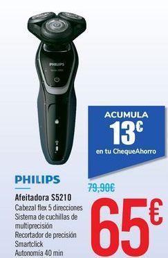 Oferta de Afeitadora S5210 PHILIPS por 65€