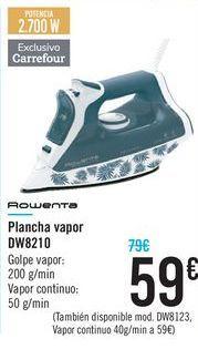 Oferta de Plancha vapor DW8210 ROWENTA  por 59€