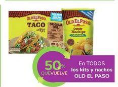 Oferta de En TODOS los kits y nachos OLD EL PASO por