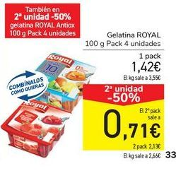 Oferta de Gelatina ROYAL  por 1,37€