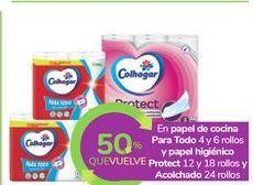 Oferta de En papel de cocina Para Todo y papel higiénico Protect y Acolchado por