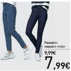 Oferta de Pantalón vaquero mujer  por 7,99€
