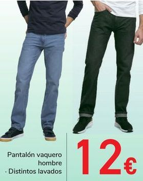 Oferta de Pantalón vaquero hombre  por 12€