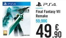 Oferta de Final Fantasy VII Remake  por 49,9€