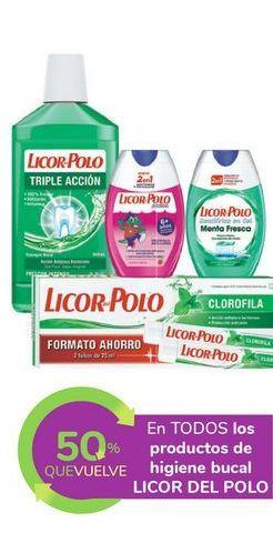 Oferta de En TODOS los productos de higiene bucal LICOR DEL POLO por