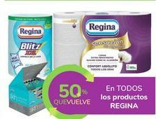 Oferta de En TODOS los productos REGINA por
