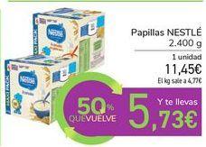 Oferta de Papillas NESTLE por 11,45€