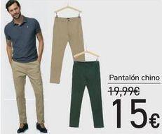 Oferta de Pantalón chino  por 15€
