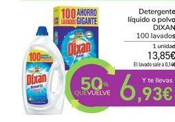 Oferta de Detergente líquido o polvo DIXAN por 13,85€