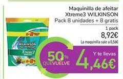Oferta de Maquinilla de afeitar Xtreme3 WILKINSON por 8,92€