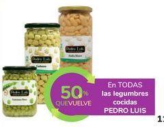 Oferta de En TODAS las legumbres cocidas PEDRO LUIS por