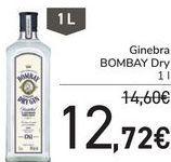 Oferta de Ginebra BOMBAY Dry  por 12,72€