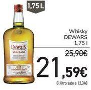 Oferta de Whisky Dewar's por 21,59€