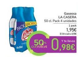 Oferta de Gaseosa LA CASERA por 1,95€