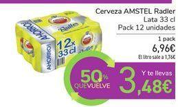Oferta de Cerveza AMSTEL Radler por 6,96€
