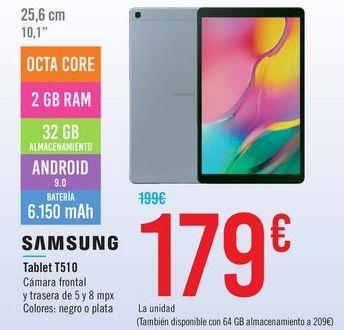 Oferta de Tablet T510 SAMSUNG por 179€