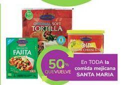 Oferta de En TODA la comida mejicana SANTA MARIA por