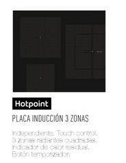 Oferta de Placa de inducción Hotpoint por