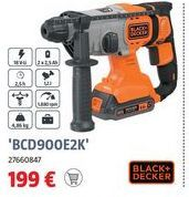 Oferta de Martillo rotativo Black & Decker por 199€