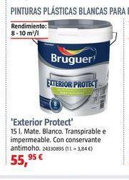 Oferta de Pintura plástica exterior Bruguer por 55,95€