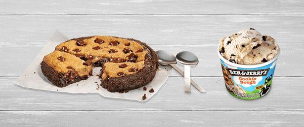 Oferta de Brownkie + helado por 5,5€