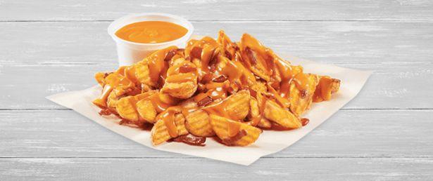 Oferta de Cheese & Bacon Fries por 3,25€