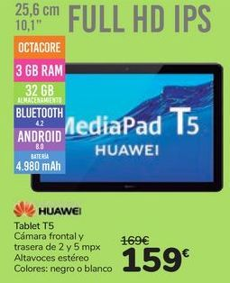 Oferta de Tablet T5 HUAWEI por 159鈧�