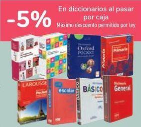 Oferta de En Diccionarios al pasar por caja  por