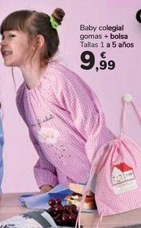 Oferta de Baby colegial gomas + bolsa  por 9,99€