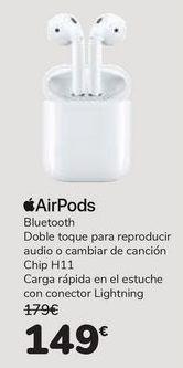 Oferta de AirPods por 149€